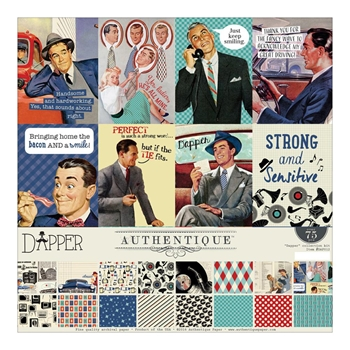 Authentique DAPPER 12 x 12 Collection Kit DAP012