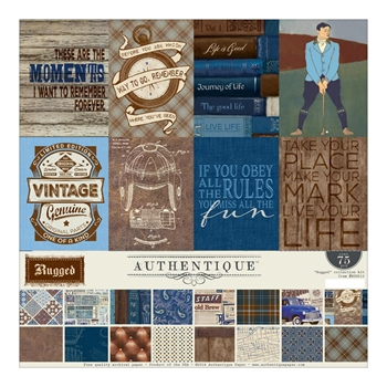 Authentique RUGGED 12 x 12 Collection Kit RUG012