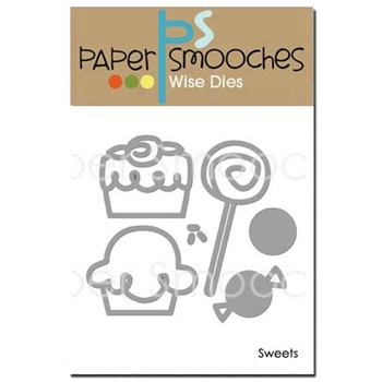 Paper Smooches SWEETS Wise Dies FBD370