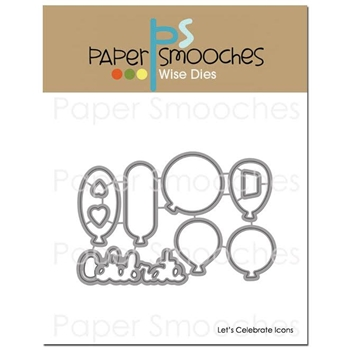 Paper Smooches LET'S CELEBRATE ICONS Wise Dies FBD368