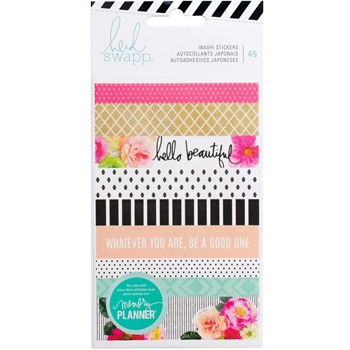 Heidi Swapp WASHI STICKER SHEETS Memory Planner 2017 315143