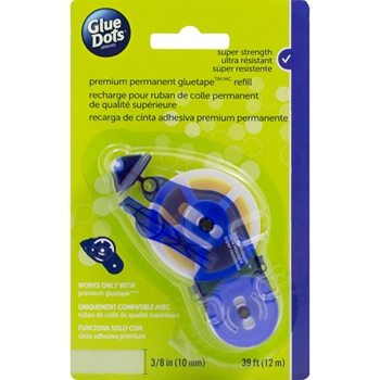 Glue Dots Permanent Tape Runner REFILL Blue 41911