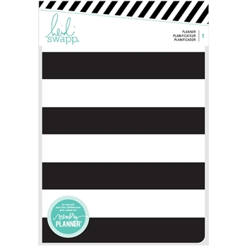 Heidi Swapp BLACK AND WHITE Personal Memory Planner 2017 313363