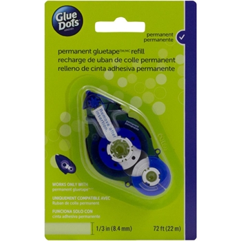 Glue Dots Permanent Tape Runner REFILL Blue 41611