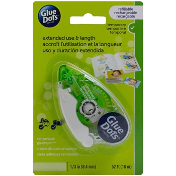 Glue Dots Temporary TAPE RUNNER Green 40601