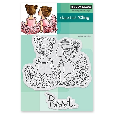 Penny Black Cling Stamp WHISPERS 40-528 Preview Image