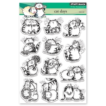 Penny Black Clear Stamps CAT DAYS 30-407