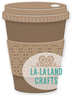 La-La Land Crafts COFFEE CUP Die Set 8267