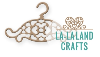 La-La Land Crafts FILIGREE HANGER Die 8263