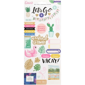 Crate Paper OASIS 6 x 12 Stickers 378995
