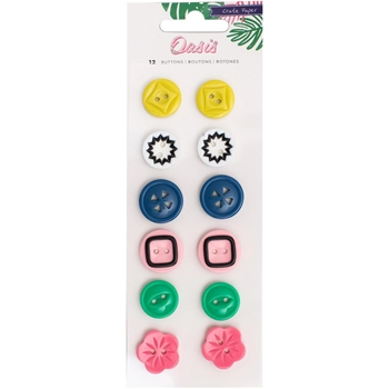 Crate Paper OASIS Buttons 378998