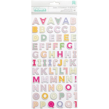 Pink Paislee OH MY HEART Paige Evans Thickers Stickers 310520