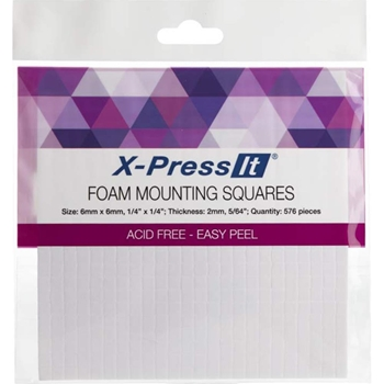 Copic Marker X-Press It FOAM MOUNTING SQUARES 1/4 X 1/4 Inch FTS6