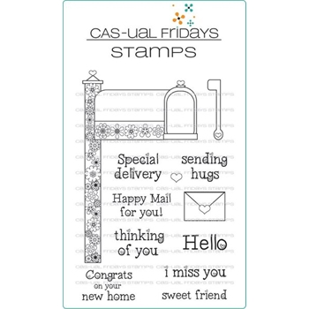 CAS-ual Fridays SPECIAL DELIVERY Clear Stamps CFS1704