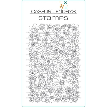 CAS-ual Fridays FULL ON FLORAL Clear Stamps CFS1702
