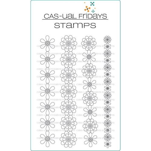 CAS-ual Fridays DAISY CHAIN Clear Stamps CFS1701 Preview Image