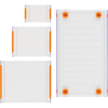 Fiskars 4 Piece STAMP BLOCK SET 6 X .65 X 9.25 Inches 058934