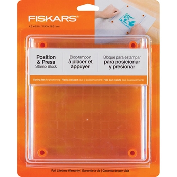 Fiskars STAMP BLOCK 4.5 X 6.5 Inches 058989