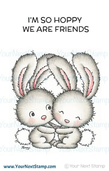 Your Next Stamp HOPPY FRIENDS Clear CYNS524 zoom image