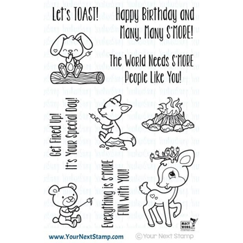 Your Next Stamp SMORE FUN Clear Stamp CYNS475