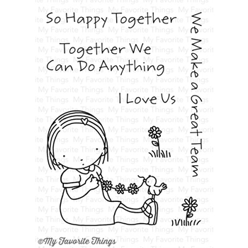 Pure Innocence HAPPY TOGETHER Clear Stamps MFT PI259