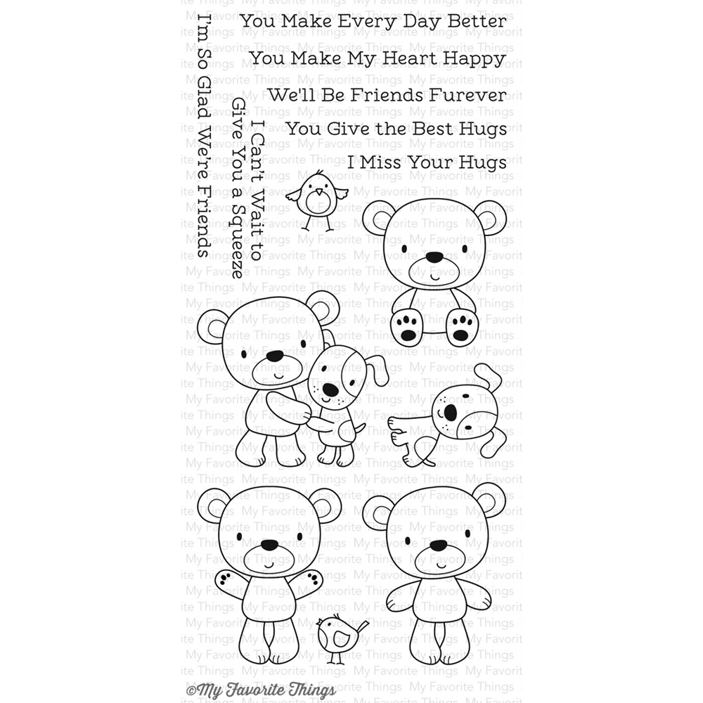 My Favorite Things FRIENDS FUREVER Clear Stamps CS179 zoom image