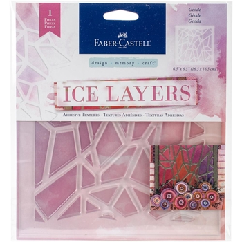 Faber-Castell GEODE ICE LAYERS Adhesive Textures 770622