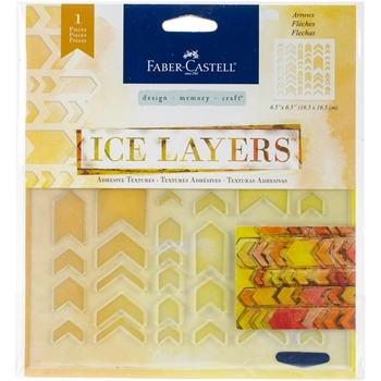 Faber-Castell ARROWS ICE LAYERS Adhesive Textures 770623