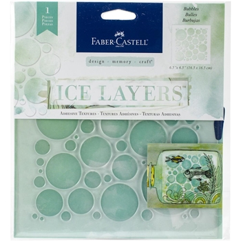 Faber-Castell BUBBLES ICE LAYERS Adhesive Textures 770624