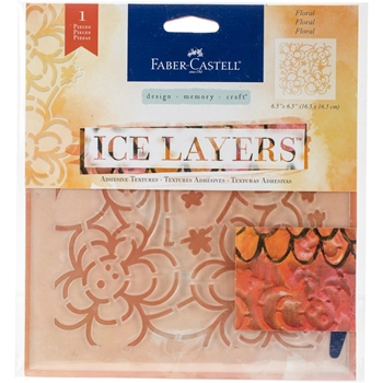 Faber-Castell FLORAL ICE LAYERS Adhesive Textures 770626