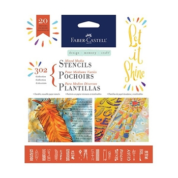 Faber-Castell 302 COLLECTION Faith Stencil Set 770604