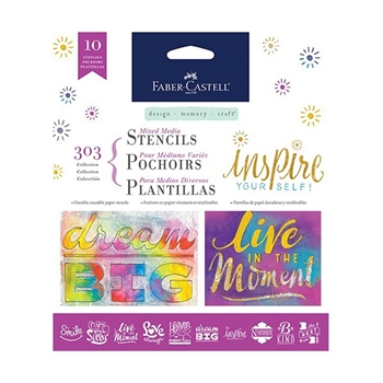 Faber-Castell 303 COLLECTION Inspiration Stencil Set 770605