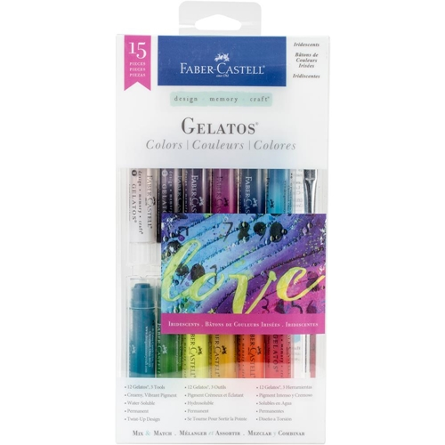 Faber-Castell IRIDESCENTS 15 PIECE GELATOS Set 770175 Preview Image