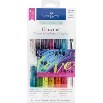 Faber-Castell IRIDESCENTS 15 PIECE GELATOS Set 770175
