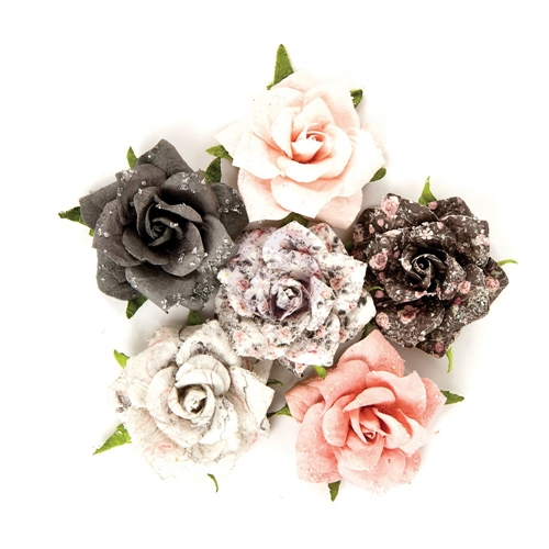 Prima Marketing PERSIAN MARBLELITE Rose Quartz Flowers 595081 Preview Image