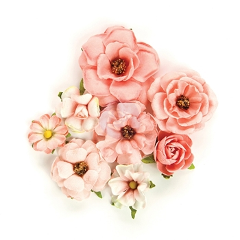 Prima Marketing ROSA VERONA Rose Quartz Flowers 595050