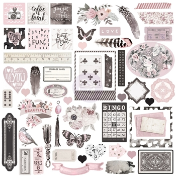 Prima Marketing ROSE QUARTZ Ephemera 593001