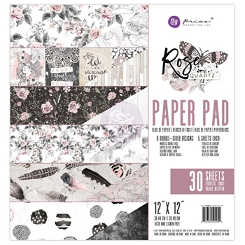 Prima Marketing ROSE QUARTZ 12 x 12 Collection Kit 592950