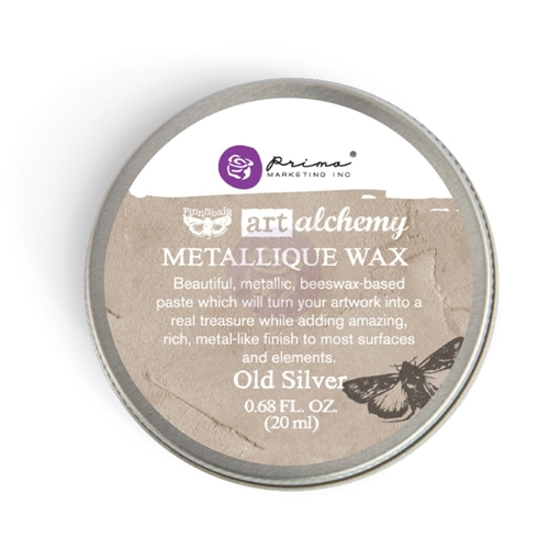 Prima Marketing OLD SILVER Art Alchemy Metallique Wax 963996 Preview Image
