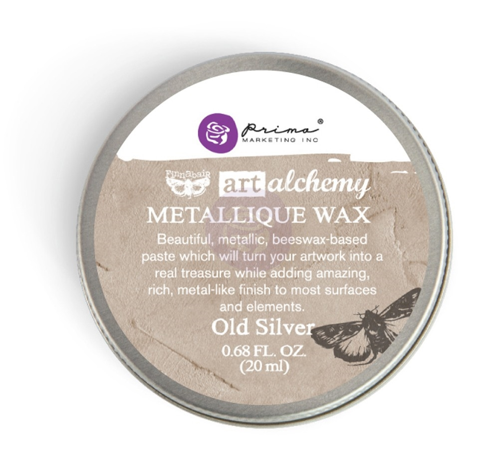 Prima Marketing OLD SILVER Art Alchemy Metallique Wax 963996 zoom image