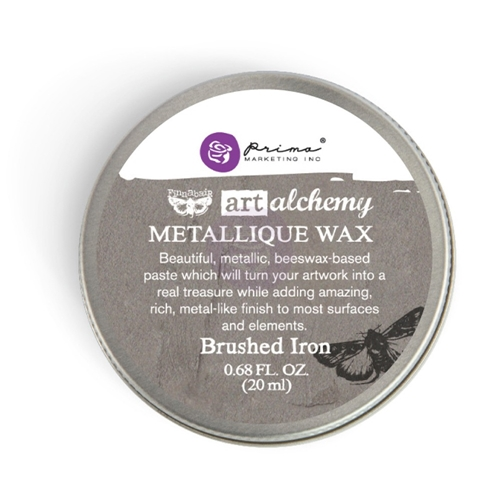 Prima Marketing BRUSHED IRON Art Alchemy Metallique Wax 964009 Preview Image