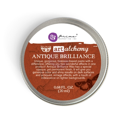 Prima Marketing RED AMBER Art Alchemy Brilliance Wax 964313 Preview Image