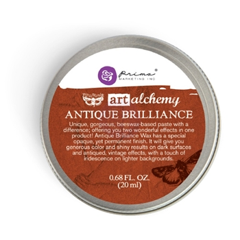 Prima Marketing RED AMBER Art Alchemy Brilliance Wax 964313