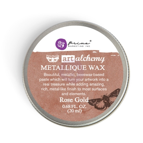 Prima Marketing ROSE GOLD Art Alchemy Metallique Wax 963972 Preview Image