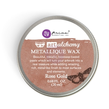 Prima Marketing ROSE GOLD Art Alchemy Metallique Wax 963972