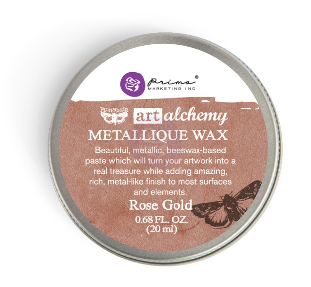 Prima Marketing ROSE GOLD Art Alchemy Metallique Wax 963972 zoom image