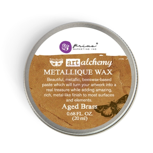 Prima Marketing AGED BRASS Art Alchemy Metallique Wax 963965 Preview Image