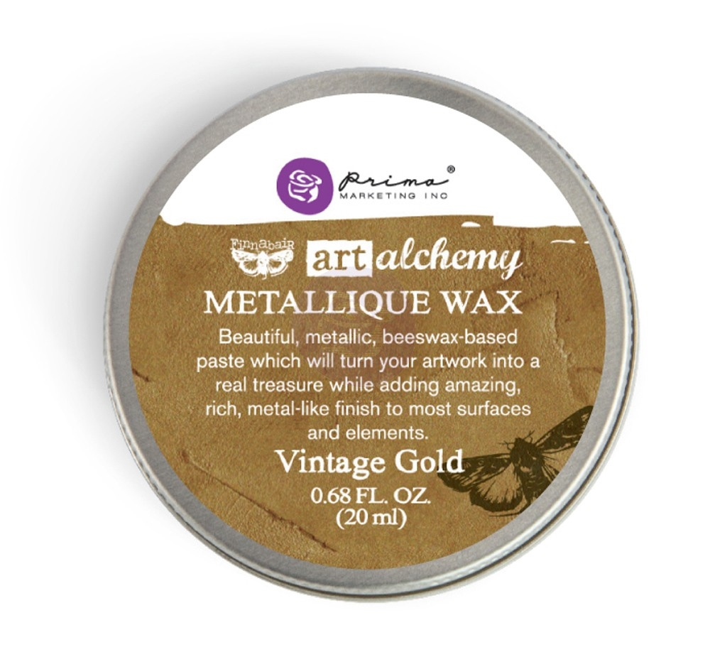 Prima Marketing VINTAGE GOLD Art Alchemy Metallique Wax 963958 zoom image