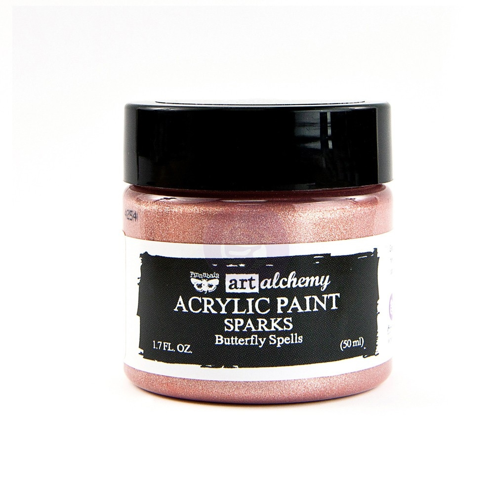 Prima Marketing SPARKS BUTTERFLY SPELLS Art Alchemy Acrylic Paint 964122 zoom image