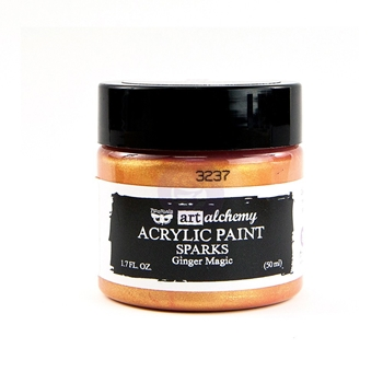 Prima Marketing SPARKS GINGER MAGIC Art Alchemy Acrylic Paint 964108
